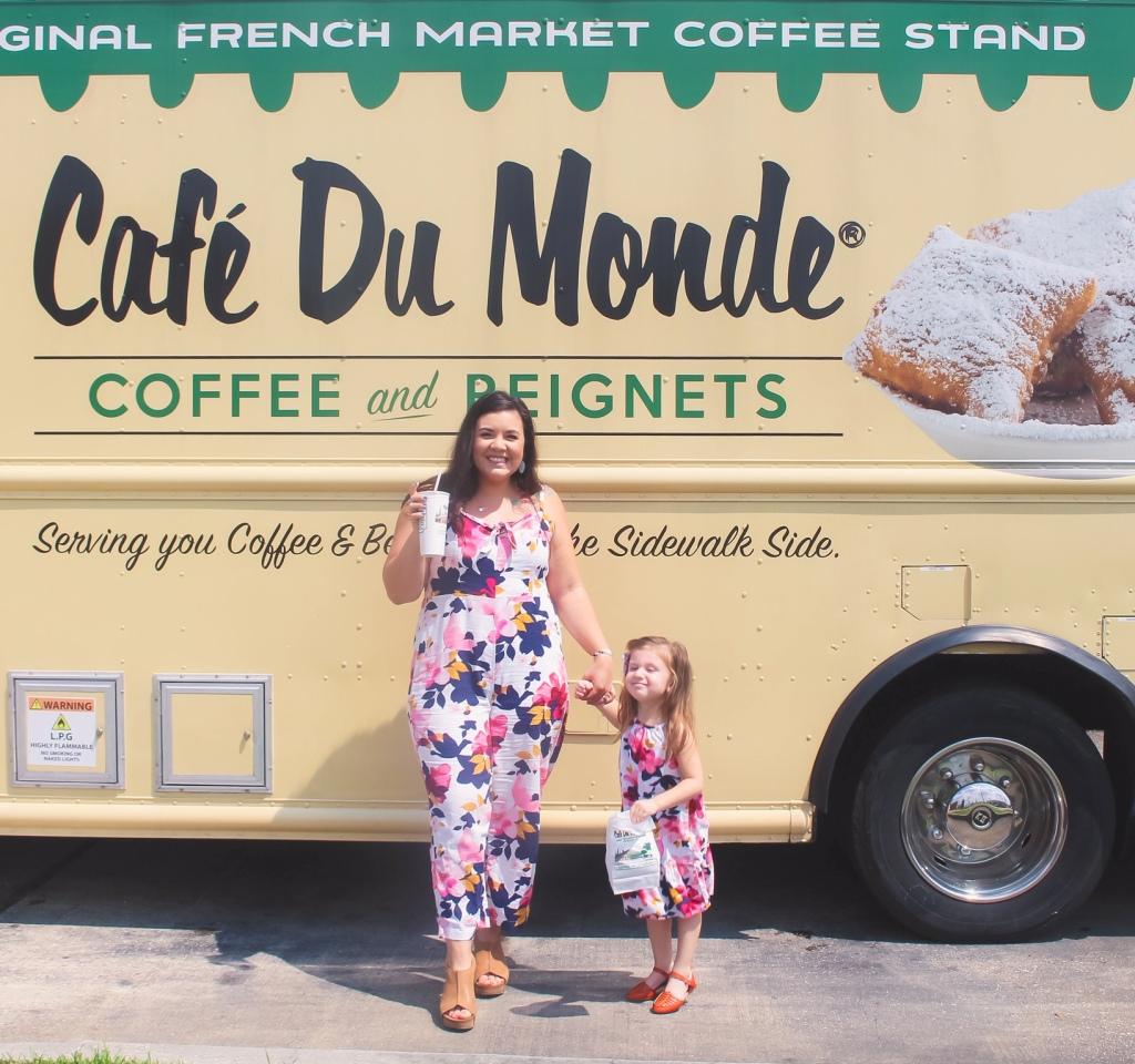 mid-week trip to cafe du monde